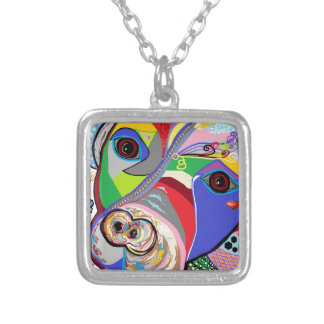 Pretty Pitty Silver Plated Necklace