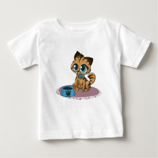 Pretty Please Feed Me Kitten - Baby t-shirt