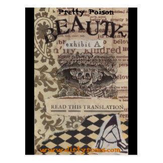 Pretty Poison Beauty Postcard