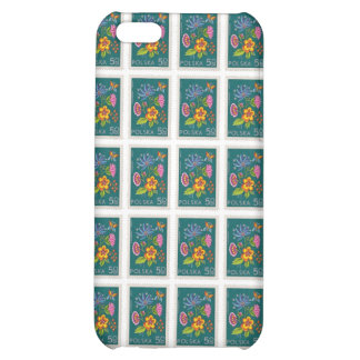 Pretty Poland Stamp iPhone 5C Covers