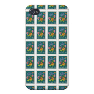 Pretty Poland Stamp iPhone 4/4S Cases