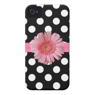 Pretty Polka Dot iPhone 4 Phone Case