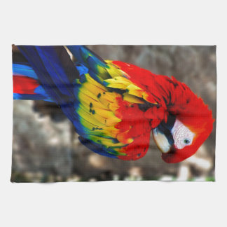 Pretty Polly Parrot Tea Towel