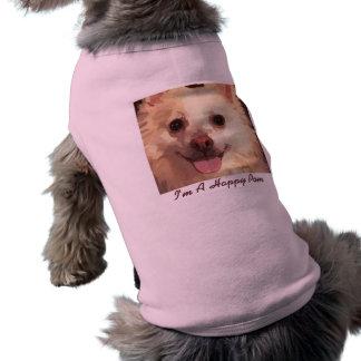 Pretty Pomeranian Face Dog Sweater Doggie Tee Shirt
