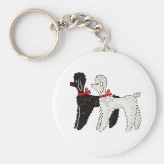 Pretty Poodles Key Ring