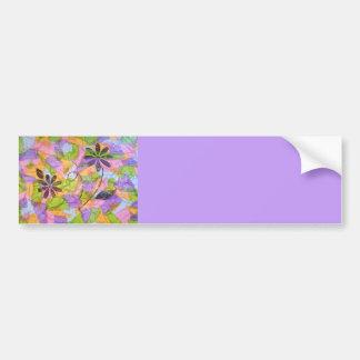 Pretty Posies Collage (lavender) Bumper Sticker