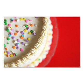 Pretty Pretty Birthday Cake Photo Print