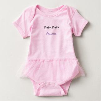 Pretty Pretty Princess Baby Tutu Baby Bodysuit