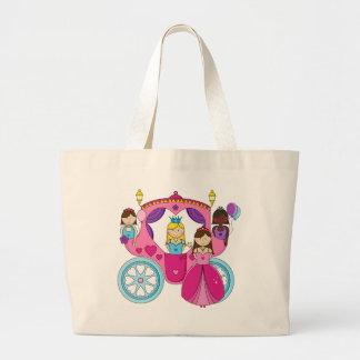Pretty Princess Carriage Tote Bag