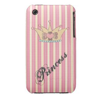 Pretty Princess Crown iPhone 3G Case iPhone 3 Case-Mate Cases