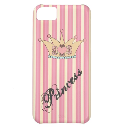 Pretty Princess Crown iPhone 5 Case