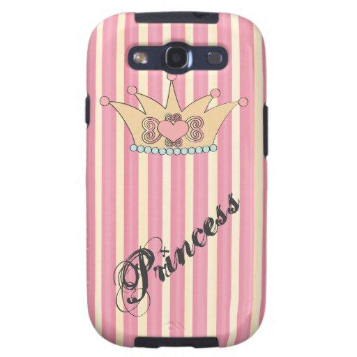 Pretty Princess Crown Samsung Galaxy S3 Case