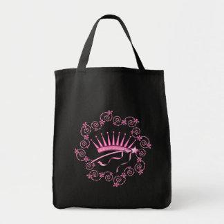 Pretty Princess Crown Canvas Bag