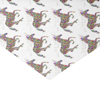 Pretty Prismatic  unicorn trendy tissue paper