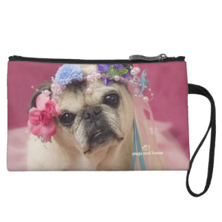 Pretty Puggy Purse by Pugs and Kisses Wristlet Clutches