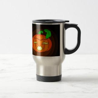 Pretty Pumpkin Stainless Steel Travel Mug