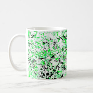 Pretty Punk Green Designer Mug