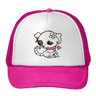 Pretty puppy Jack Russell Cap