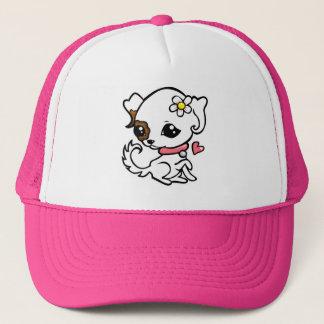 Pretty puppy Jack Russell Trucker Hat