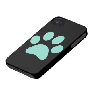 Pretty Puppy Paw Print Case-Mate iPhone 4 Cases