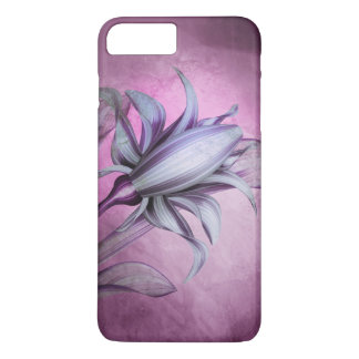 Pretty Purple Flower Blossom Art iPhone 7 Plus Case