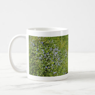 Pretty Purple flowers and grass Mug