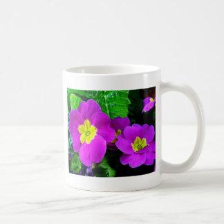 pretty purple flowers coffee mugs