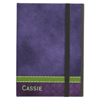 Pretty Purple iPad Air Folio Case