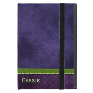 Pretty Purple iPad Mini Folio Case Cover For iPad Mini