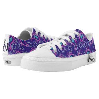 Pretty Purple Low Tops