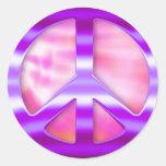 Pretty Purple Peace Sign