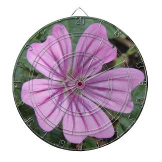 Pretty Purple Wildflower Dart Board