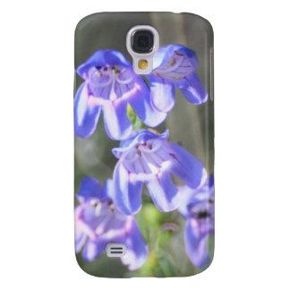 Pretty Purple Wildflowers Galaxy S4 Case