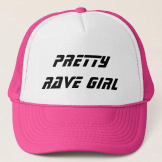 Pretty Rave Girl Trucker Hat