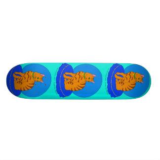 Pretty Red Kitty Skateboard