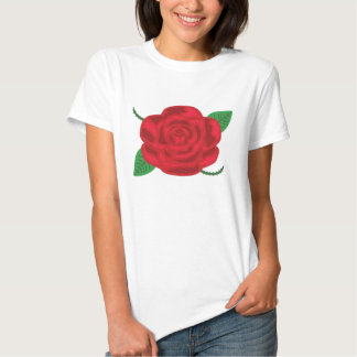 Pretty Red Rose Shirts