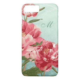 Pretty Retro Flower Home Decor Chintz Peony n Bird iPhone 7 Plus Case