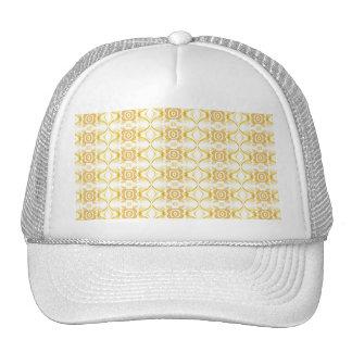 Pretty Retro Pattern Old Fashioned Mesh Hat