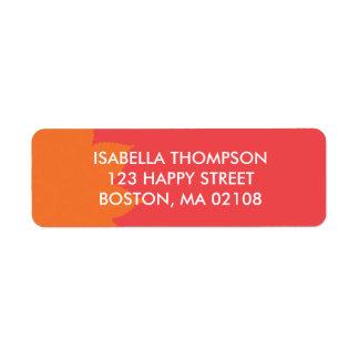 Pretty Return Address Label