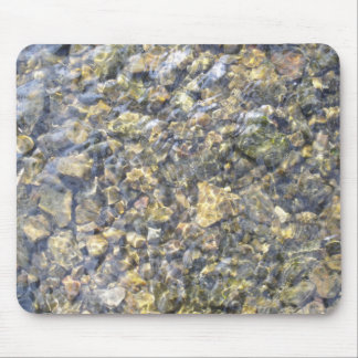 Pretty River Pebbles And Water Mouse Pad