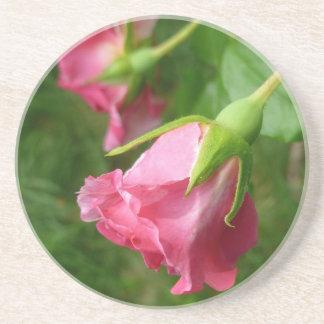 Pretty rose coaster
