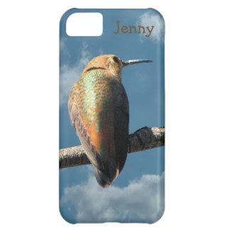 Pretty Rufous Hummingbird Case For iPhone 5C