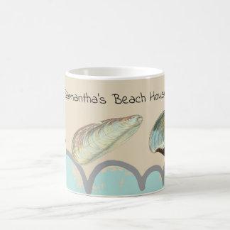Pretty Seashells at the Beach Coffee Mug