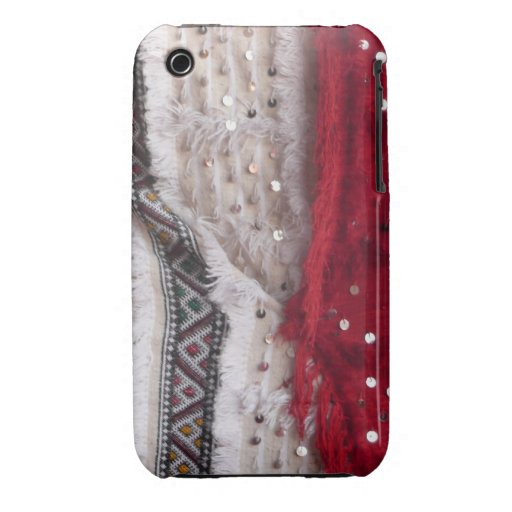 Pretty Sequin Fabric Case-Mate iPhone 3 Cases
