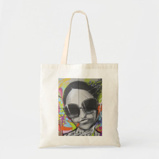 pretty shades on the street budget tote bag