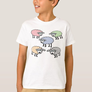 Pretty Sheep T-Shirt - Have a more colourful life
