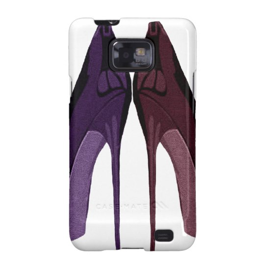 Pretty Shoes All In A Row Art Samsung Galaxy SII Cover