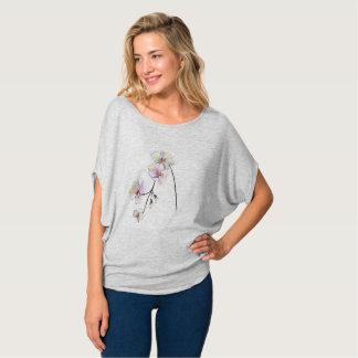 Pretty Simple Orchid Design Women's top
