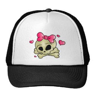 Pretty skull cap