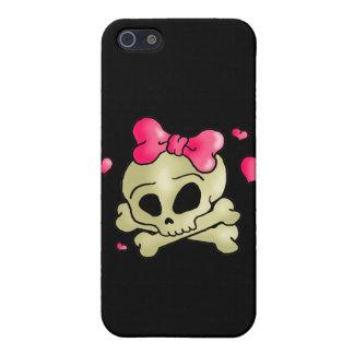 Pretty skull iPhone 5/5S case